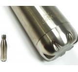 metalen fles met lasergravure