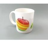 tas met appel opdruk in sublimatie